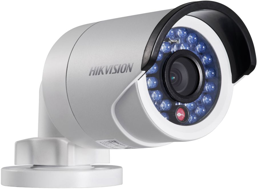 Видеокамера IP HIKVISION DS-2CD2042WD-I,  12 мм,  белый