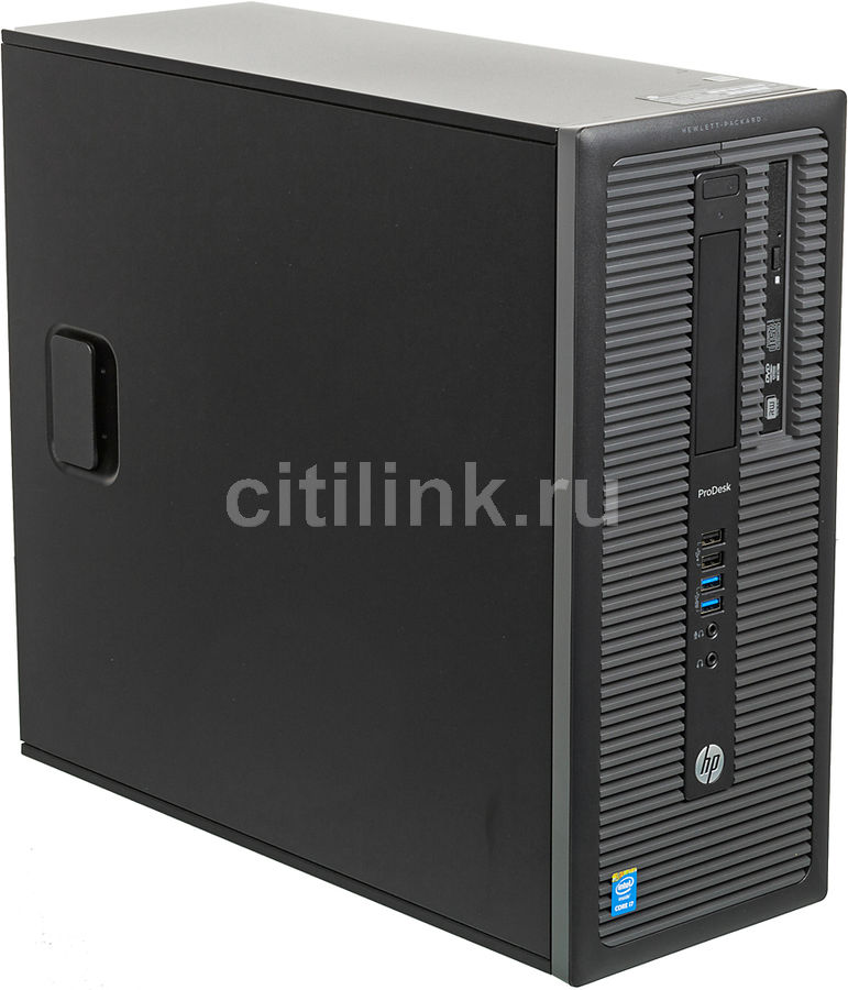 Компьютер  HP ProDesk 600 G1,  Intel  Core i7  4590,  DDR3 4Гб, 500Гб,  Intel HD Graphics 4600,  DVD-RW,  Windows 7 Professional,  черный [l9b87ea]