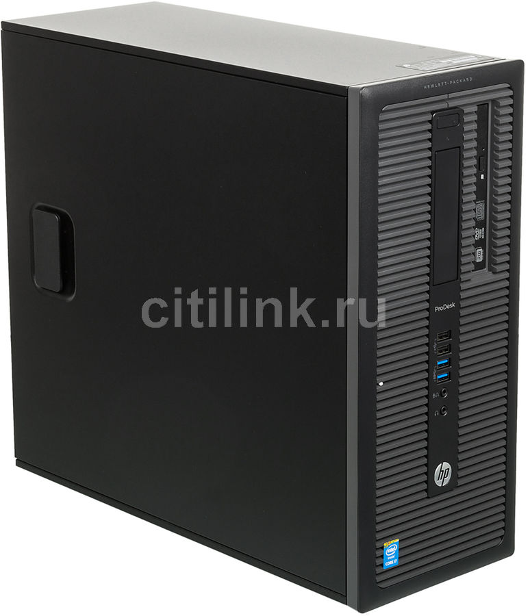 Компьютер  HP ProDesk 600 G1,  Intel  Core i7  4790,  DDR3 4Гб, 500Гб,  Intel HD Graphics 4600,  DVD-RW,  Free DOS,  черный [l9b85ea]