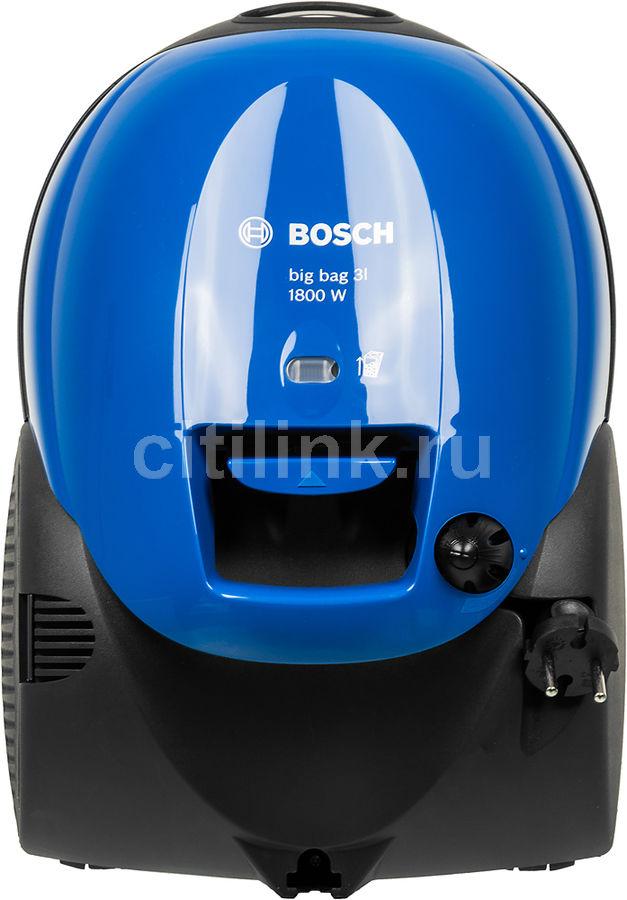 Пылесос BOSCH BSM1805RU, 1800Вт, синий