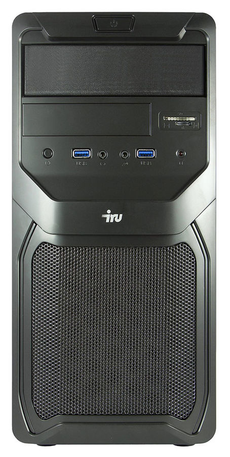 Компьютер  IRU Office 311,  Intel  Celeron  G1840,  DDR3 4Гб, 500Гб,  Intel HD Graphics,  CR,  Free DOS,  черный [371844]