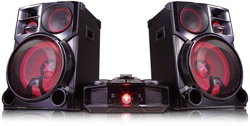 Музыкальный центр LG CM9960+NS9960,  черный [cm9960fb]