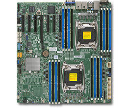Серверная материнская плата SUPERMICRO MBD-X10DRH-IT-O,  Ret