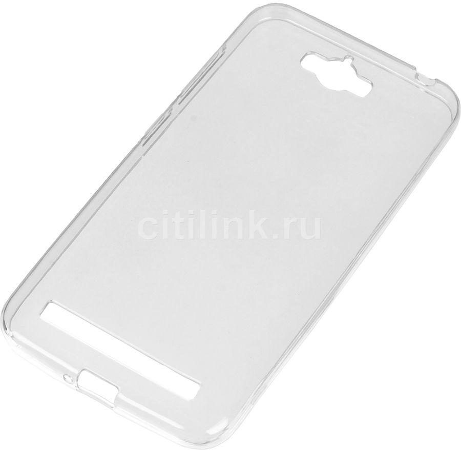 Чехол (клип-кейс) REDLINE iBox Crystal, для Asus ZenFone Max ZC550KL, прозрачный [ут000008394]