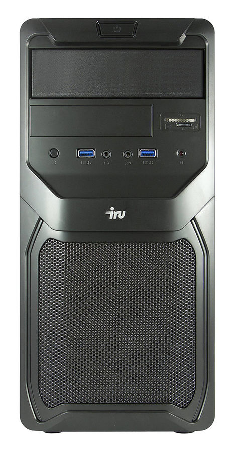 Компьютер  IRU Premium 311,  Intel  Core i3  4170,  DDR3 4Гб, 1Тб,  nVIDIA GeForce GTX 750Ti - 2048 Мб,  CR,  Free DOS,  черный [372411]