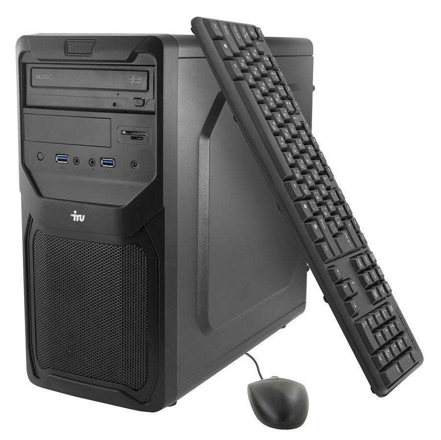 Компьютер  IRU Premium 511,  Intel  Core i5  4460,  DDR3 4Гб, 1Тб,  nVIDIA GeForce GTX 950 - 2048 Мб,  DVD-RW,  CR,  Free DOS,  черный [372420]