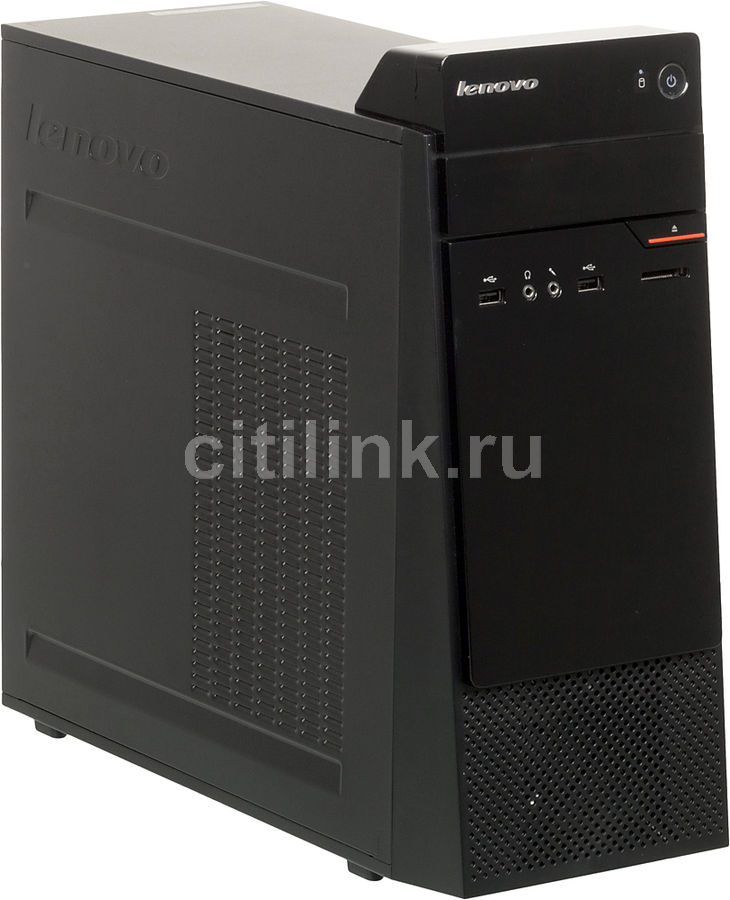 Компьютер  LENOVO S200,  Intel  Celeron  N3050,  DDR3L 2Гб, 500Гб,  Intel HD Graphics,  CR,  Free DOS,  черный [10hr000fru]