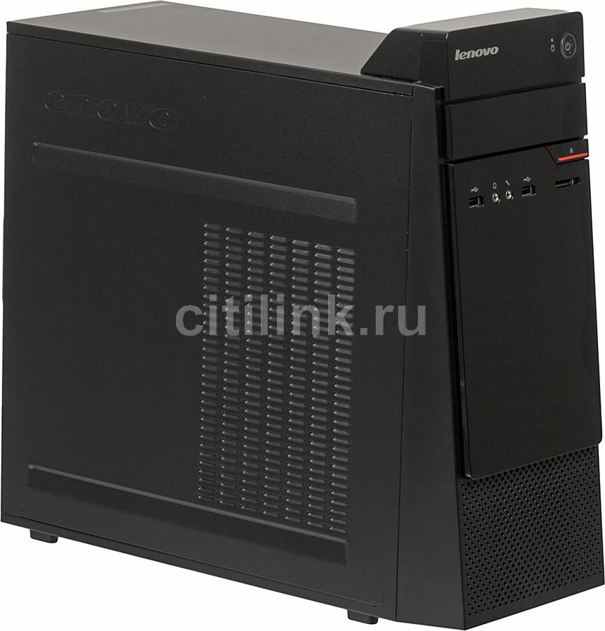 Компьютер  LENOVO S200,  Intel  Pentium  N3700,  DDR3 2Гб, 500Гб,  Intel HD Graphics,  DVD-RW,  CR,  Windows 10 Home,  черный [10hq0014ru]