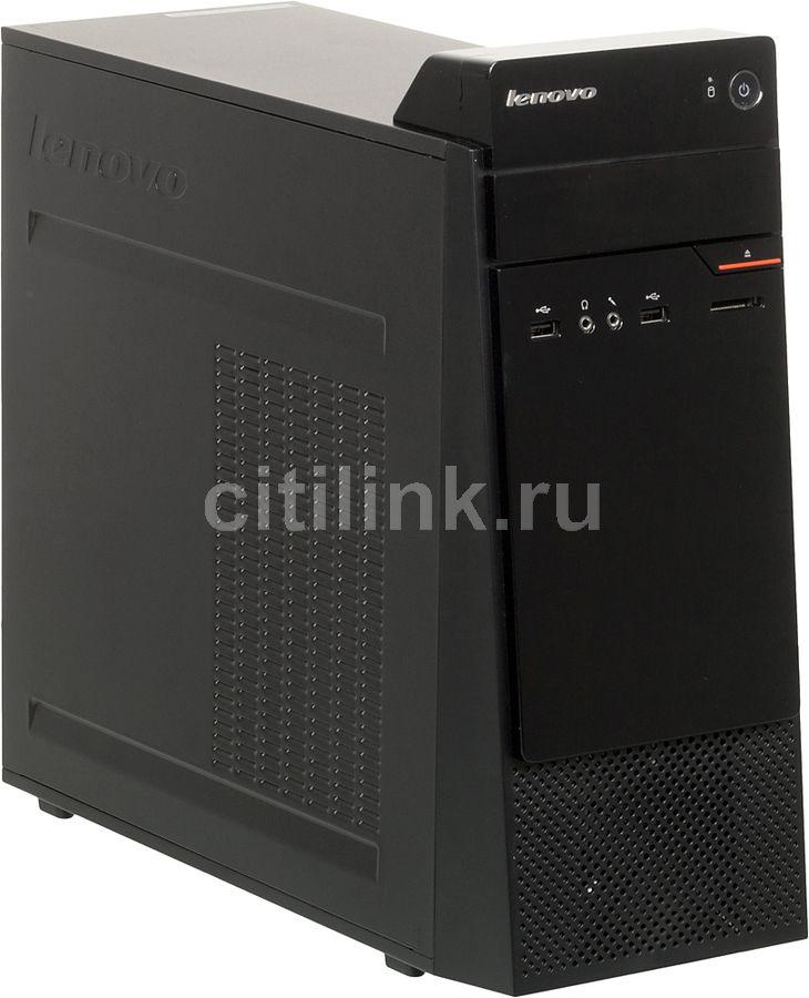Компьютер  LENOVO S200,  Intel  Pentium  N3700,  DDR3L 4Гб, 500Гб,  Intel HD Graphics,  DVD-RW,  CR,  Windows 10 Home,  черный [10hq000mru]