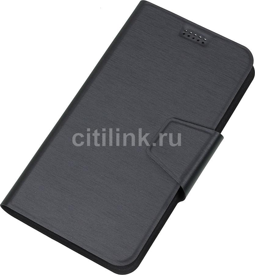 Чехол (флип-кейс) REDLINE iBox UniMotion, для универсальный 5-6