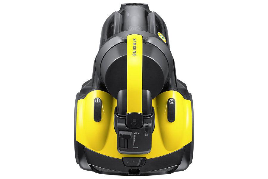 Пылесос SAMSUNG SC19F50VC, 1900Вт, желтый