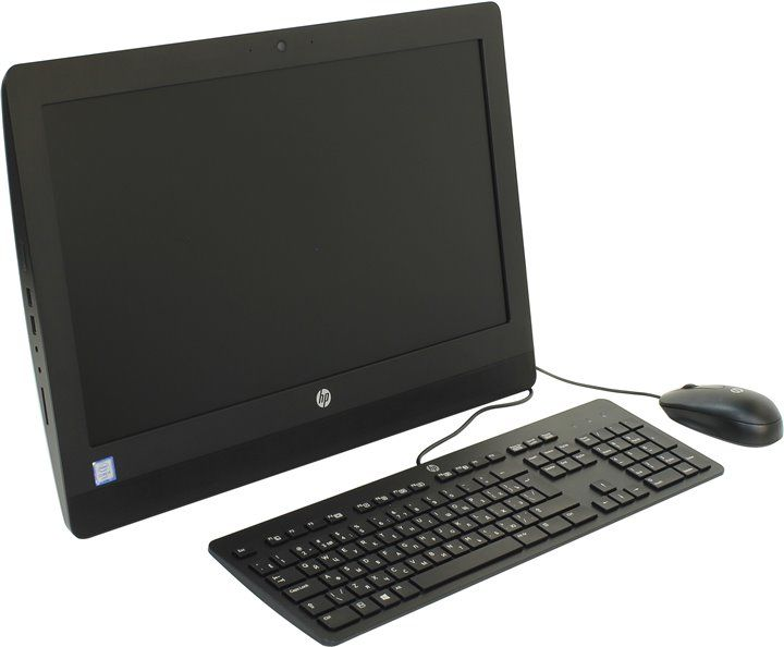Моноблок HP ProOne 400 G2, Intel Celeron G3900T, 4Гб, 500Гб, Intel HD Graphics 510, DVD-RW, Windows 7 Professional, черный [v7q67ea]