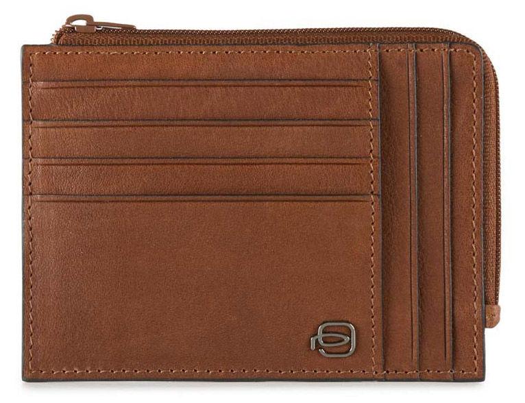 Чехол для кредитных карт Piquadro Black Square PU1243B3/CU светло-коричневый натур.кожа