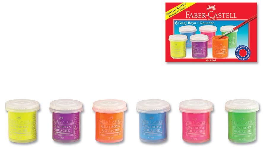 Гуашь Faber-Castell 160403 6цв.