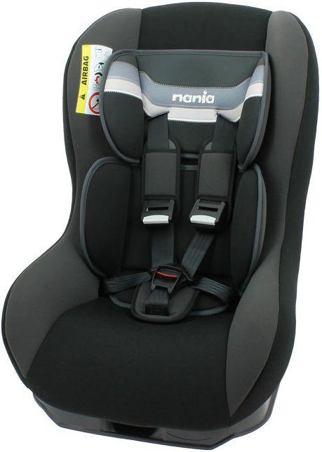 Автокресло детское NANIA Driver FST (horizon black), 0+/1, черный [046603]