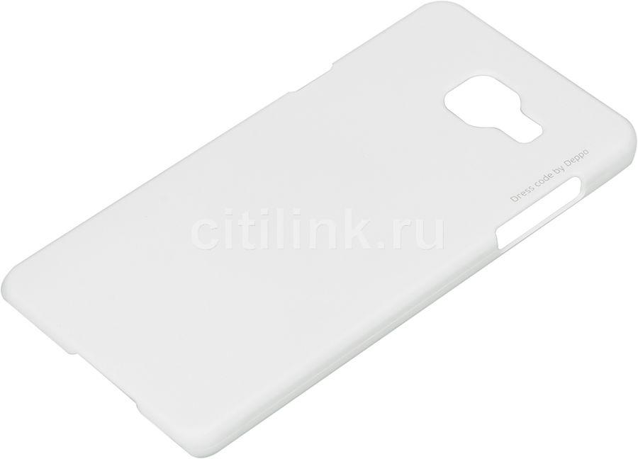 Чехол (флип-кейс) DEPPA Air Case, для Samsung Galaxy A5 (2016), белый [83229]