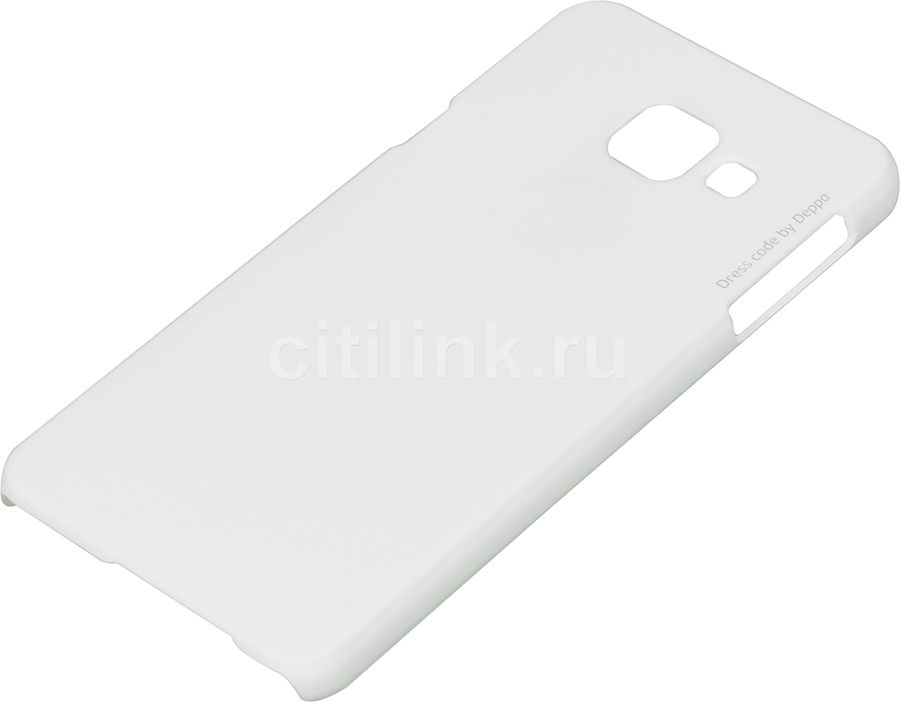 Чехол (флип-кейс) DEPPA Air Case, для Samsung Galaxy A3 (2016), белый [83224]