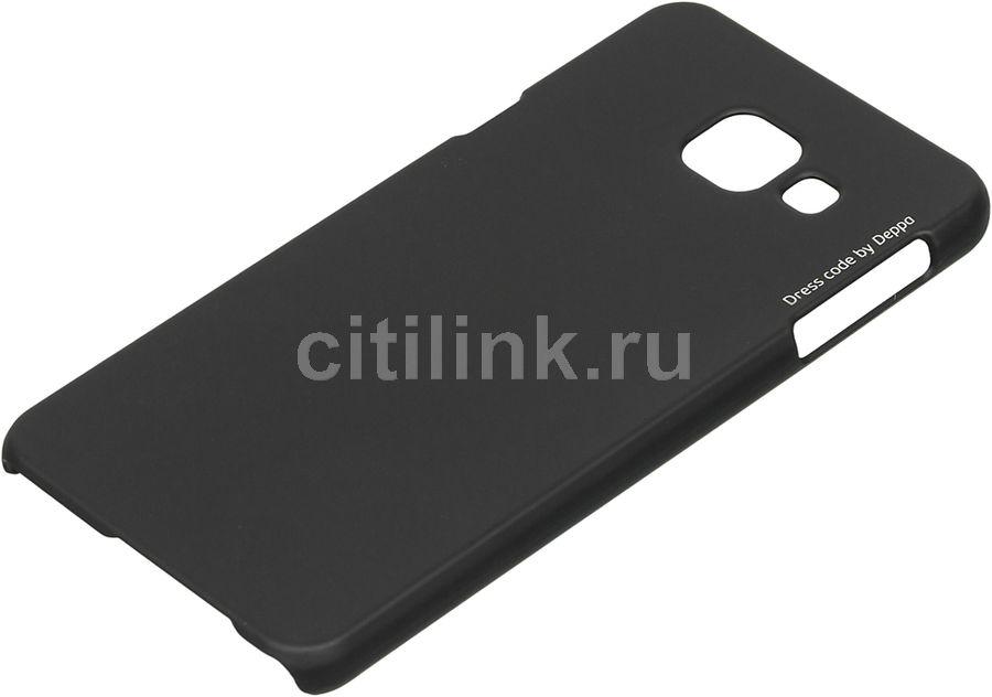Чехол (клип-кейс) DEPPA Air Case, для Samsung Galaxy A3 (2016), черный [83223]