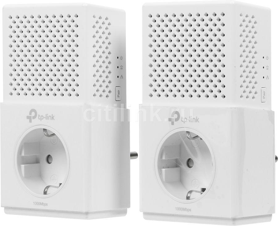 Сетевой адаптер PowerLine TP-LINK TL-PA7020PKIT Ethernet powerline адаптер tp link tl pa7020p kit tl pa7020pkit