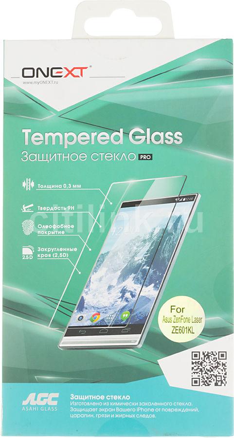 Защитное стекло ONEXT для Asus Zenfone 2 Laser ZE601KL,  1 шт [41050]