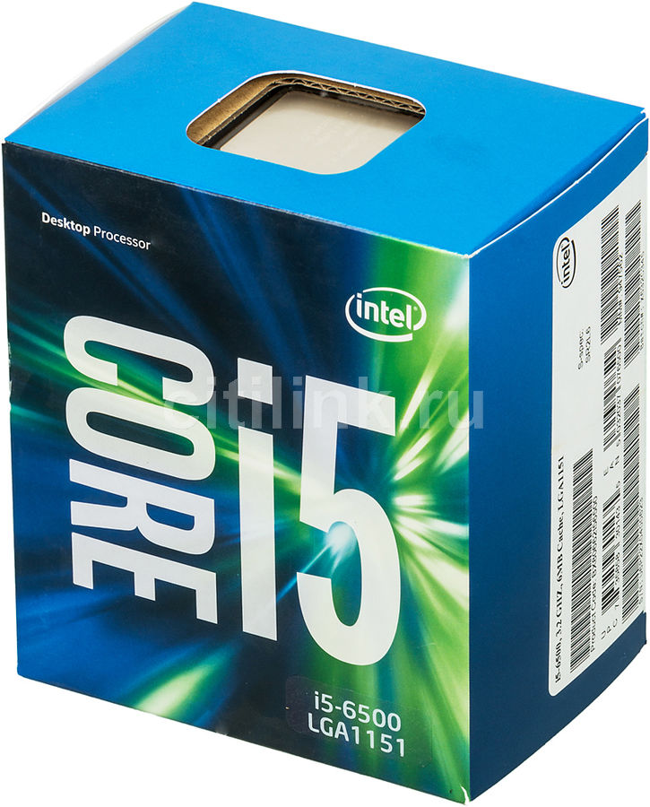 Процессор INTEL Core i5 6500, LGA 1151 ** BOX [bx80662i56500 s r2l6]