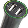 Автомобильное зарядное устройство BURO XCJ-041-2.1A,  2xUSB,  2.1A,  черный вид 3