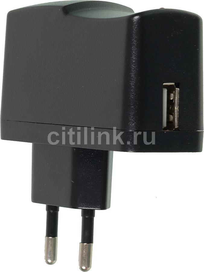 Сетевое зарядное устройство BURO XCJ-024-2.1A,  USB,  2.1A,  черный