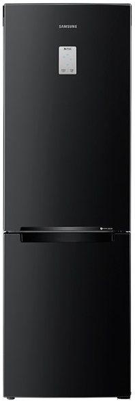 Холодильник SAMSUNG RB33J3420BC,  двухкамерный, черный [rb33j3420bc/wt]