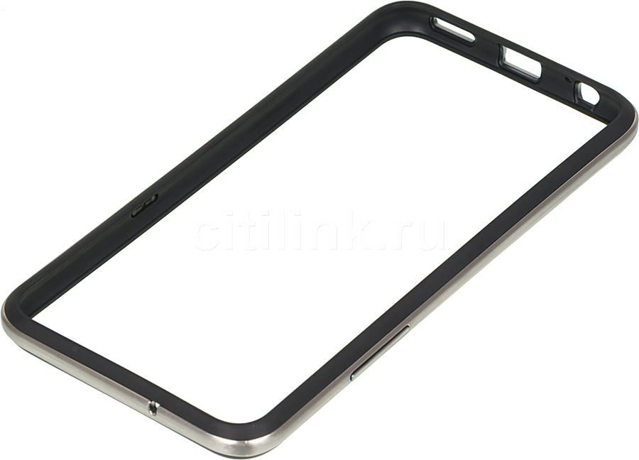 Бампер LG CSV-220, для LG X View/X Screen, черный [csv-220.agrabk]