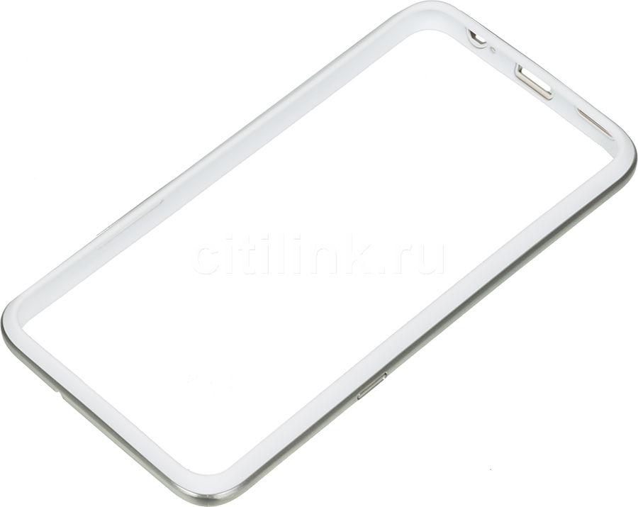 Бампер LG CSV-220, для LG K500ds, белый [csv-220.agrawh]
