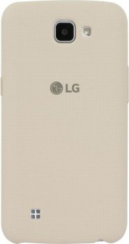 Чехол (клип-кейс) LG CSV-170, для LG K130E, бежевый [csv-170.agrawh]