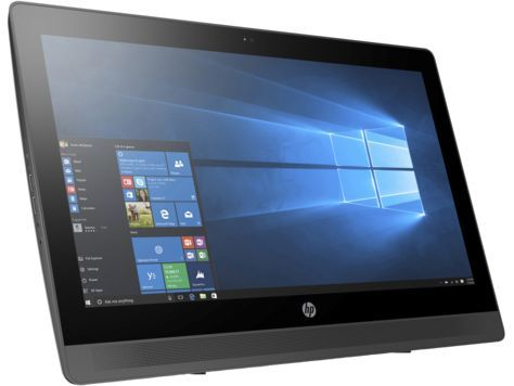 Моноблок HP ProOne 400 G2, Intel Celeron G3900T, 4Гб, 500Гб, Intel HD Graphics 510, DVD-RW, Free DOS, черный [v7q66ea]