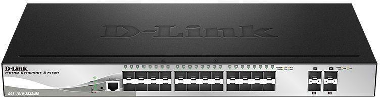 Коммутатор D-LINK DGS-1510-28XS/ME, DGS-1510-28XS/ME