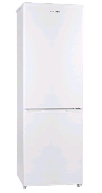 Холодильник SHIVAKI SHRF-250NFW,  двухкамерный,  белый