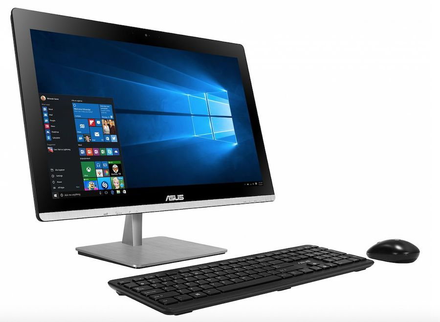 Моноблок ASUS V200IBGK-BC003X, Intel Pentium N3700, 4Гб, 1000Гб, nVIDIA GeForce 930M - 2048 Мб, DVD-RW, Windows 10, черный [90pt01j1-m01380]