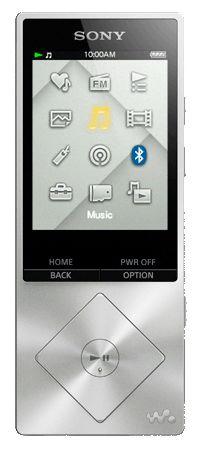 MP3 плеер SONY NWZ-A17 flash 64Гб серебристый [nwza17s.ee]