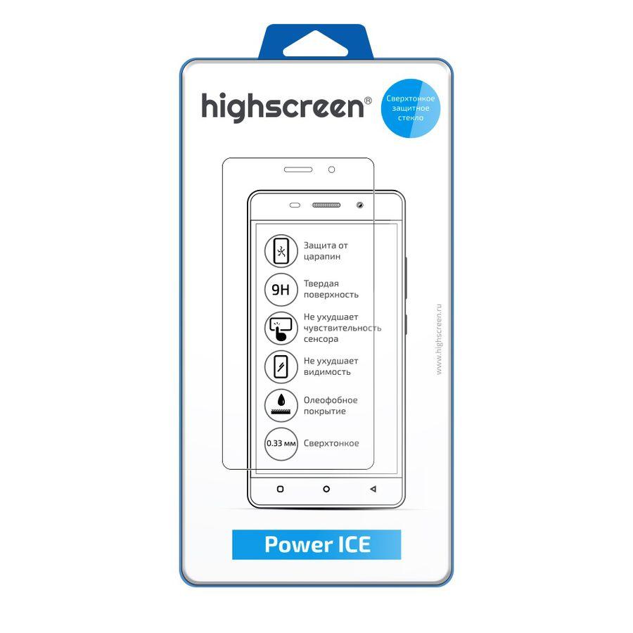 Защитное стекло HIGHSCREEN для Highscreen Power Ice,  1 шт [23308]