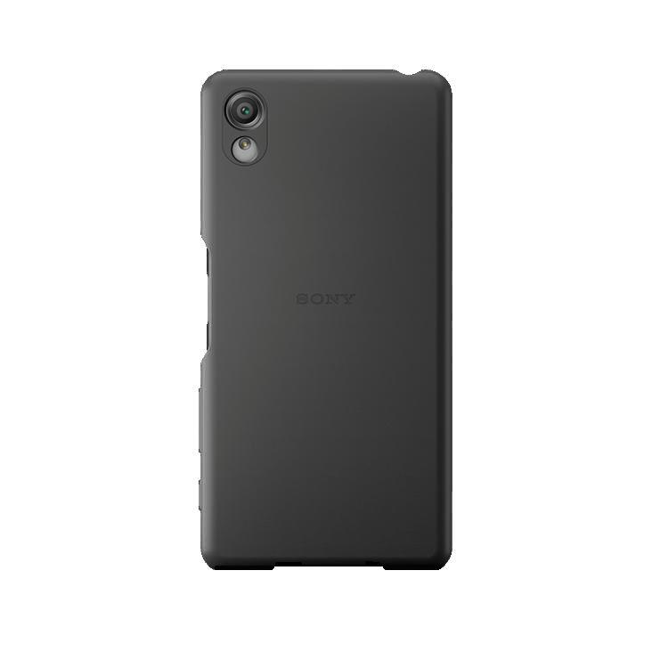 Чехол (клип-кейс) SONY Cover, для Sony Xperia X, черный [sbc22 black]