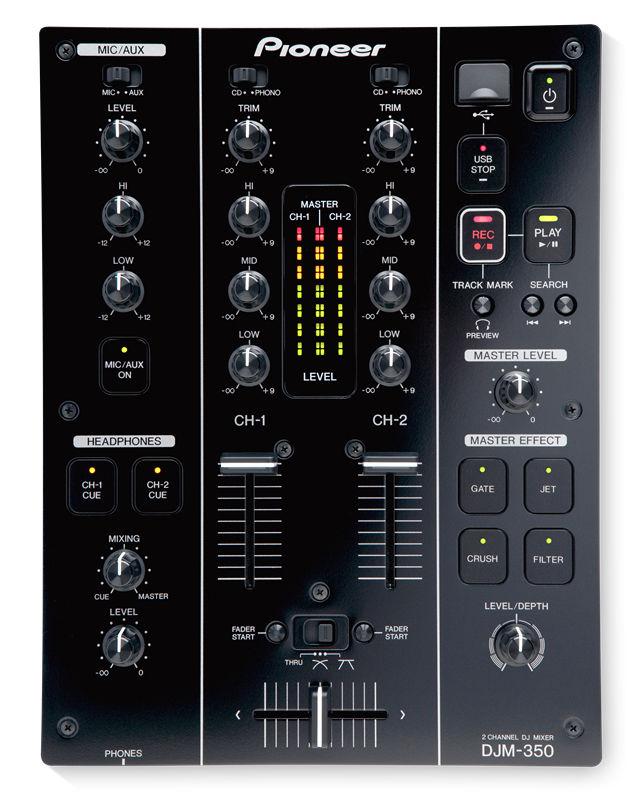 Музыкальный пульт PIONEER DJM-350