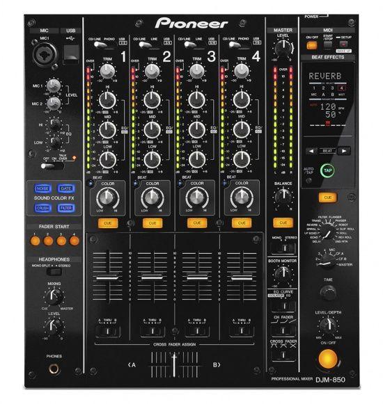 Музыкальный пульт PIONEER DJM-850-K