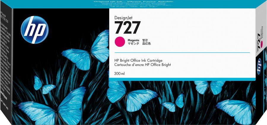 Картридж HP 727 пурпурный [f9j77a]
