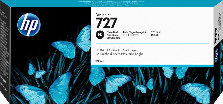 Картридж HP 727 фото черный [f9j79a]