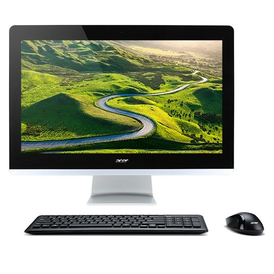 Моноблок ACER Aspire Z3-705, Intel Core i3 5005U, 4Гб, 1Тб, Intel HD Graphics 5500, DVD-RW, Windows 10 Home, черный [dq.b3qer.003]