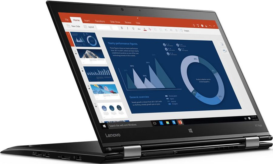 "Ультрабук LENOVO ThinkPad X1 Yoga, 14"",  IPS, Intel  Core i7  6500U 2.5ГГц, 8Гб, 512Гб SSD,  Intel HD Graphics  520, Windows 10, 20FRS0SD00,  черный"