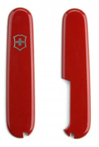 Набор накладок для перочинных ножей Victorinox (C.3600.3+C.3600.4) красный