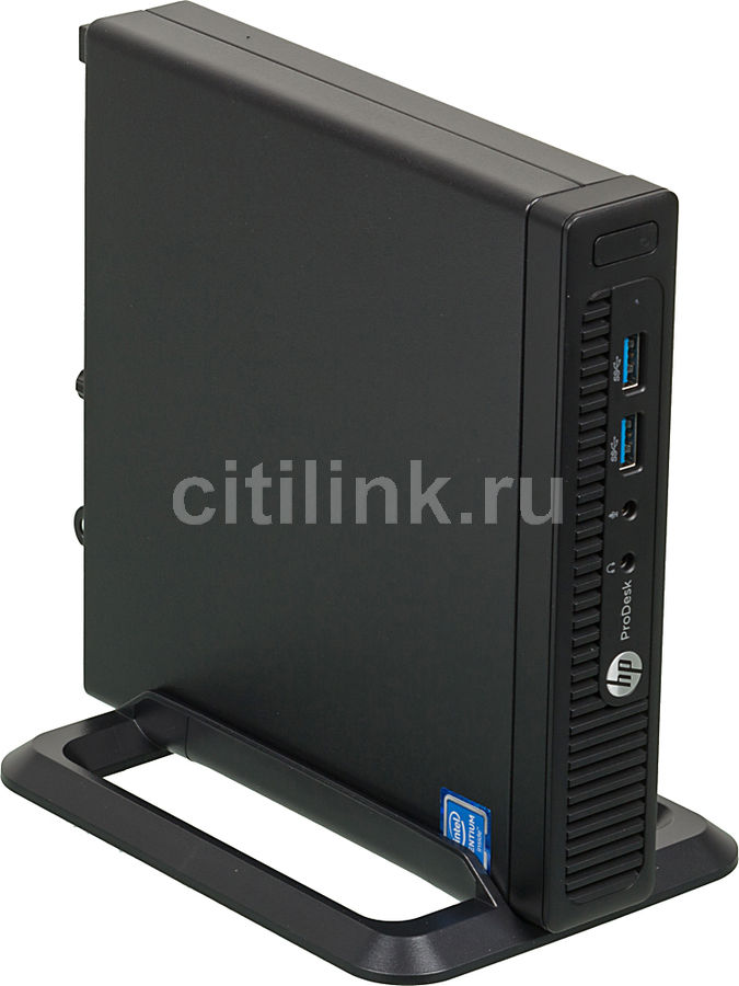 Компьютер  HP ProDesk 400 G2,  Intel  Pentium  G4400T,  DDR4 4Гб, 128Гб(SSD),  Intel HD Graphics 510,  Windows 7 Professional,  черный [x9d63es]