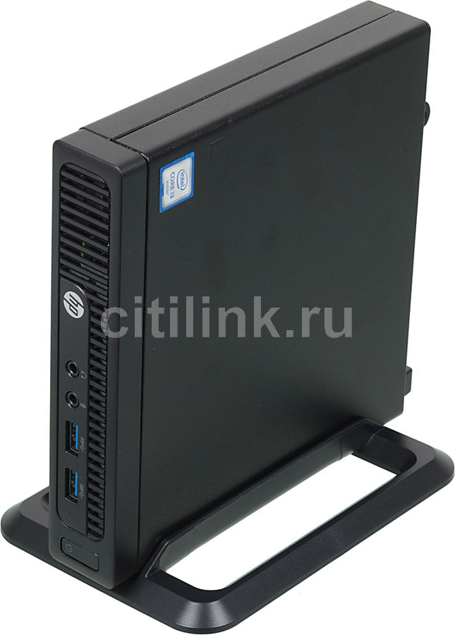 Компьютер  HP 260 G2,  Intel  Core i3  6100U,  DDR4 4Гб, 256Гб(SSD),  Intel HD Graphics 520,  Free DOS,  черный [x9d65es]