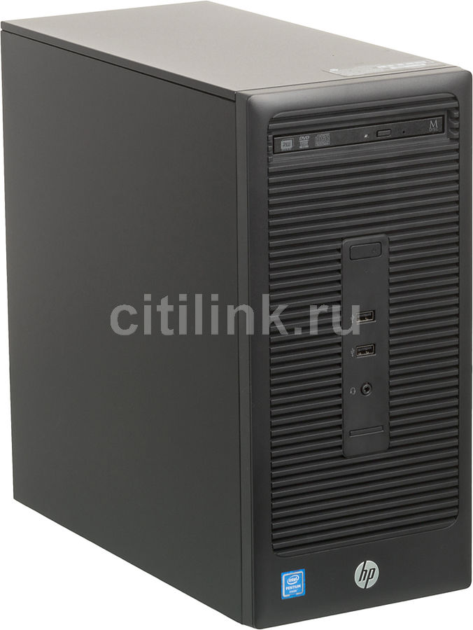 Компьютер  HP 280 G2,  Intel  Pentium Dual-Core  4400,  DDR4 4Гб, 500Гб,  Intel HD Graphics 510,  DVD-RW,  Free DOS,  черный [v7q85ea]