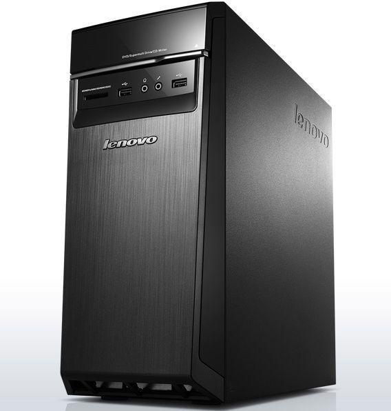 Компьютер  LENOVO H50-05,  AMD  A8  7410,  DDR3 8Гб, 1000Гб,  AMD Radeon R5 340 - 1024 Мб,  DVD-RW,  CR,  Windows 10,  черный [90bh004hrs]