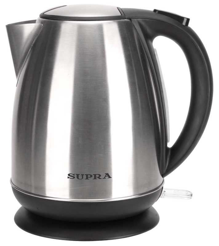 Чайник электрический SUPRA KES-1733N, 2200Вт, серебристый